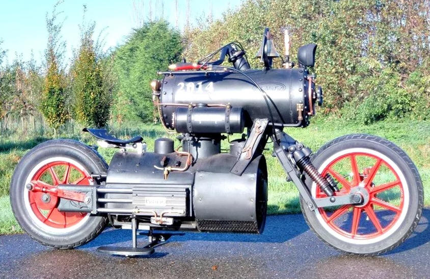 black pearl the steam powered motorcycle. Black Bedroom Furniture Sets. Home Design Ideas