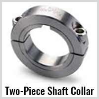 two piece shaft collars