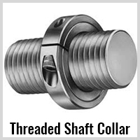 threaded shaft collar